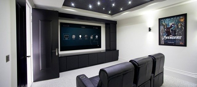 Home theater installation in Dallas-Fort Worth